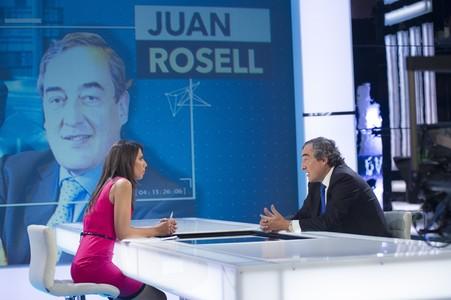 """Ana Pastor y Joan Rosell en """"El Objetivo""""."""